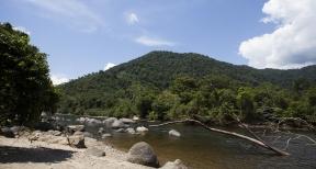 Río Chirinos. Límite natural entre las comunidades Awajún de San Ignacio (Cajamarca)