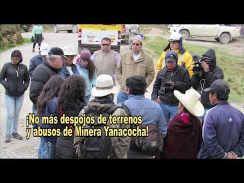 Embedded thumbnail for Recurso de casación de Yanacocha intenta anular juicio que ganó la familia Chaupe